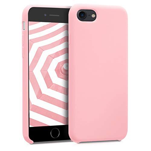 kwmobile Cover Compatibile con Apple iPhone 7 8   SE (2020) - Cover Custodia in Silicone TPU - Back Case Protezione Cellulare Oro Rosa