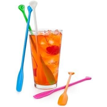 Smilyard Stir Sticks 5pcs//set Creative Help Me Coffee Drink Muddler Stirrer//Stirring Rod Juices Spoon Swizzle Stick Stirring Tools SY-ST01