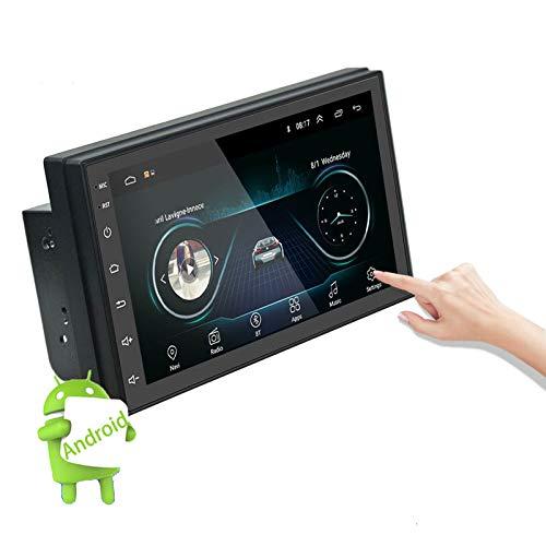 ALLWIN 2Din Coche Radio Android Multimedia Player Autoradio 2 DIN 7 '' Pantalla Táctil GPS WiFi Bluetooth FM Auto Audio Player Stereo