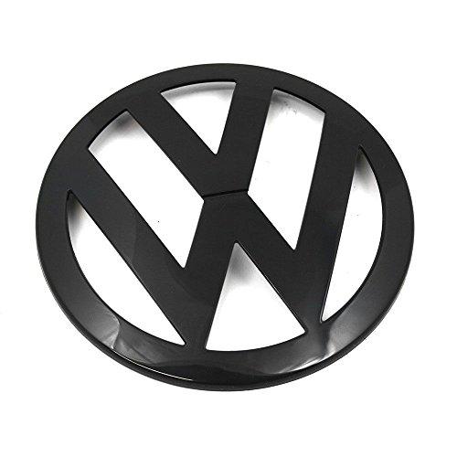 Volkswagen 7H0853601041 Emblem Logo vorn Kühlergrill Logo Zeichen schwarz