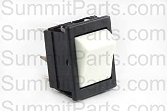 WHITE MOMENTARY SWITCH FOR ALLIANCE, UNIMAC, HUEBSCH WASHERS