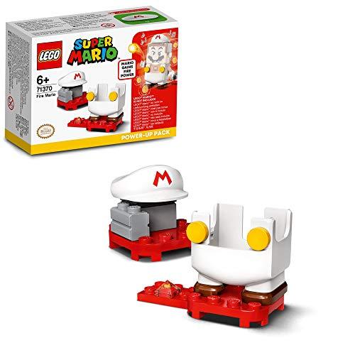 LEGO71370SuperMarioPackPotenciador:MariodeFuegoJuguetedeConstrucción