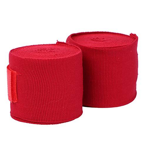 HUINING Gants de boxe pour enfants de 3 à 15 ans, gants de boxe pour enfants de style dessin animé, gants de boxe junior en cuir PU (rouge, 304,8 cm)