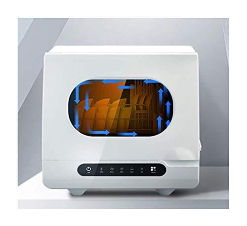 DGHJK Lavavajillas de sobremesa, lavavajillas automático Inteligente para el hogar, Mini máquina de vajilla de Secado al Aire, luz Ultravioleta Ozono 70 & deg;Esterilización