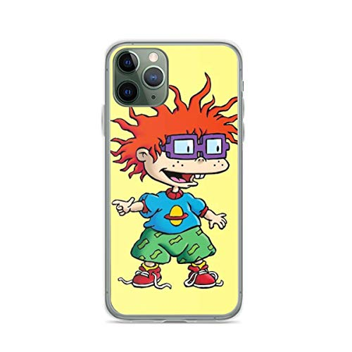 Phone Case Rugrats Chuckie Compatible with iPhone 6 6s 7 8 X XS XR 11 Pro Max SE 2020 Samsung Galaxy Bumper Absorption Anti