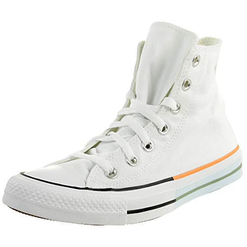 Converse Chuck Taylor all Star Sun Blocked Sneakers Donne Bianco - 40 - Sneakers Alte