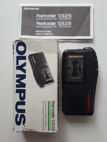 Olympus Pearlcorder S926 analoges Diktiergerät in schwarz