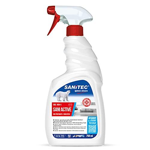 SANITEC Disinfettante Sgrassatore Sani Active...