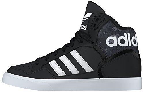 adidas Damen Extaball W Turnschuhe, Black (Negbas / Ftwbla / Grau), 36 EU