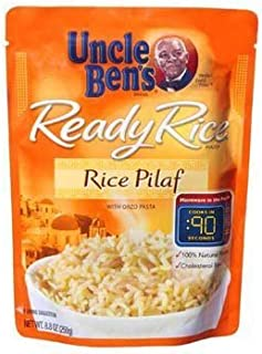 Uncle Ben`s, Ready Rice, Rice Pilaf, 8.8oz Pouch (Pack of 6)