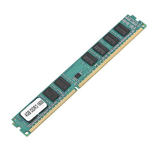 Kafuty Mini DDR3 4GB PC3-12800 Speicher RAM 240Pin Modul Platine mit Eingebauter Hochwertiger Chip, Schutzen vor Korrosion und Abrieb, Langlebig und Tragbar für Intel/AMD