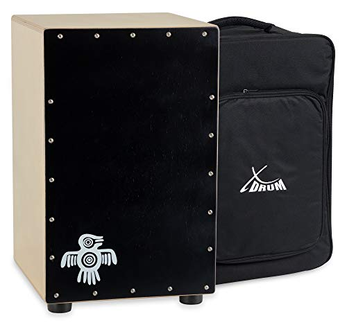 XDrum Cajon Peruana Black Wood