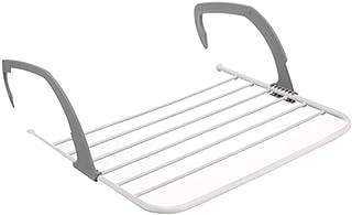 SHKY Rack de Secado de Ropa (Plegable), para Colgar en los radiadores o en el balcón, para Espacio de Secado Adicional para el balcón Interior al Aire Libre,Gray,S