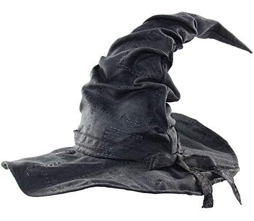 bad taste dieser Style macht geil Verformbarer Hexenhut mit Flicken für Karneval Fasching Halloween Walpurgis - für Damen Herren Kinder Mädchen