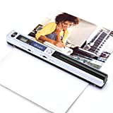 Magic Wand Portable Scanners for Documents, Photo, Old Pictures, Receipts, 900DPI, Scan A4