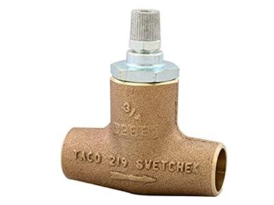 """Taco 219-4 3/4"""" Sweat, Bronze Horizontal Flo-Check Valve from Taco"""