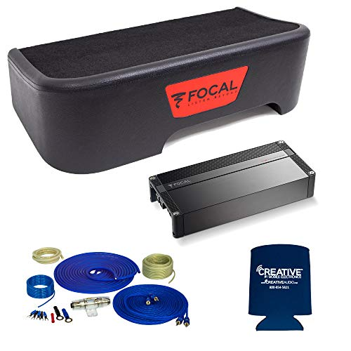Buy Discount Focal Compatible with 2011-2018 Ford F-150 SuperCrew - Single 10 Sub Package w/Wiring ...