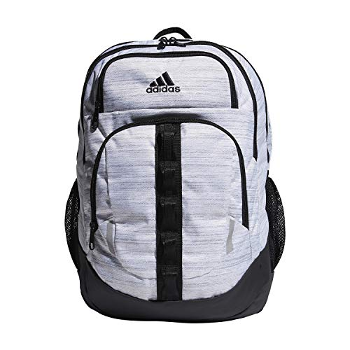adidas Unisex Prime Backpack, Two Tone White/ Black, ONE SIZE