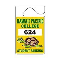 """パーキング パーミット タグ (Parkig Permit Tag)""""HAWAII PACIFIC COLLEGE"""""""