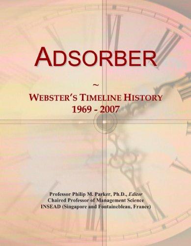 Adsorber: Webster's Timeline History, 1969 - 2007
