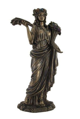 Bronzestatue der griechischen Göttin der Ernte, Demter