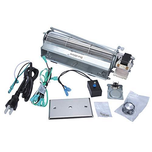 Durablow MFB007-C GFK4, FK4 Kit de Ventilador de Chimenea de Repuesto para Calefactor, Majestic, Vermont Castings, Monessen, CFM, Northern Flame, Rotom HB-RB74K