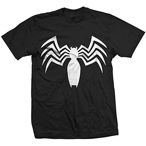 Rockoff Trade Venom Chest Logo T-Shirt, Noir (Black), XXL Homme