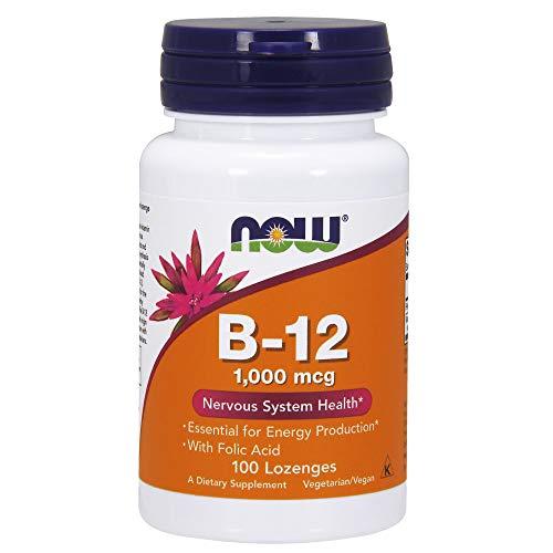 NOW Cianocobalamina B12-100 Comprimidos