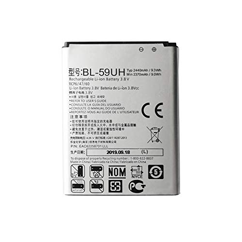 Pattaya BL-59UH - Batería compatible con LG Optimus G2 Mini D620 D410 L65 D285 BL-59UH