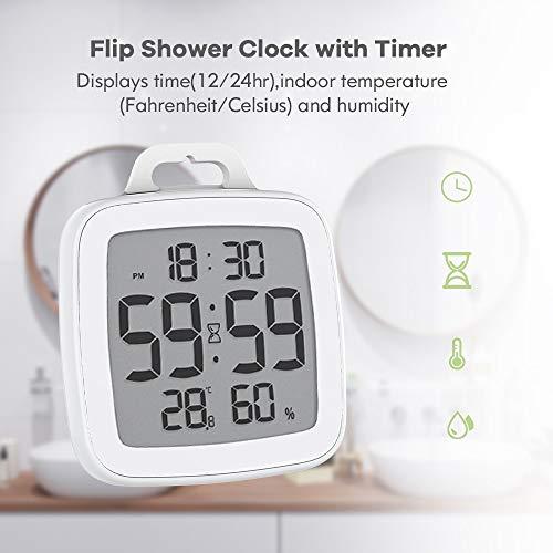 RENJUN Countdown-Timer, wasserdicht Digital-Küche-Timer for Kochen Dusche Stoppuhr Wecker Elektronischen Kochen Countdown-Touch-Timer