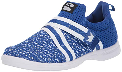 Brunswick Bowling-Schuhe für Herren, Königsblau/Weiß, Größe 42