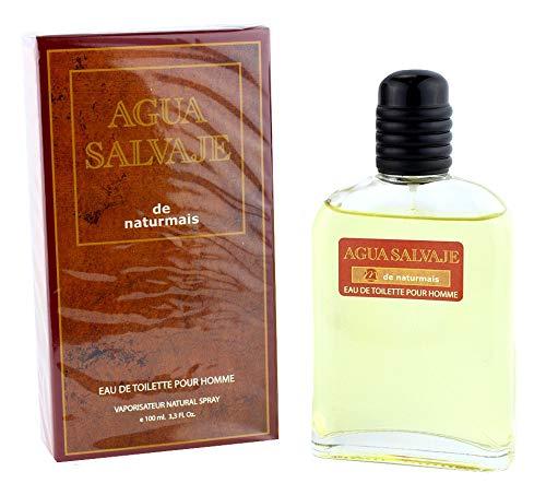 Agua Salvaje Eau De Parfum Intense 100 ml, Perfume de Hombre. Compatible con (Eau Sauvage Dior)