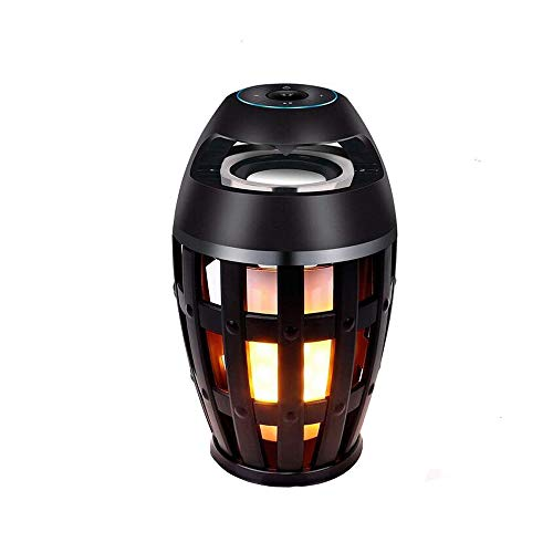 Why Choose Eoncore LED Flame Lamp Waterproof Bluetooth Speaker Wireless Stereo Bass Speaker Atmosphe...