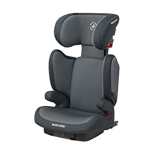 Maxi-Cosi Tanza Kindersitz mit ISOFIX, Mitwachsende Sitzerhöhung mit G-Cell Seitenaufprallschutz, Gruppe 2/3 Autositz, Nutzbar ab ca. 3,5 - 12 Jahre, (ca. 100 - 150 cm), Grey (grau)