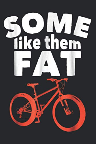 Funny Fat Tire Mountain Bike Bicycle Cyclist Gift: Daily NoteBooks - A5 size, High quality paper stock