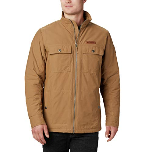 Columbia Men's Wheeler Lodge Casual Jacket, Delta, X-Large