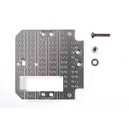 TAMIYA 300056535 1:14 Alu Kupplungshebelplate 2/3 Achs, Silber