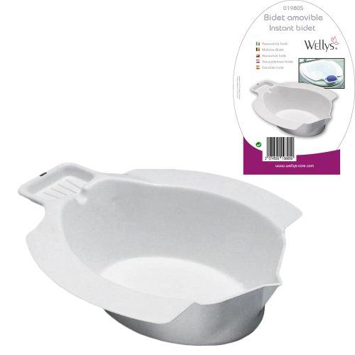 Bidé Portátil Acoplable al Inodoro WC - Medidas Universales