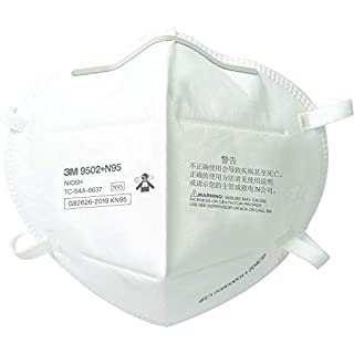 3M N95 Particulate Respirator 9502+, Disposable, Helps Protect Against Non-Oil Based Particulates, 50/Pack (B08NTS51JX) | Amazon price tracker / tracking, Amazon price history charts, Amazon price watches, Amazon price drop alerts