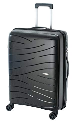 Savebag Swan Suitcase Medium 45 x 25 x 60 cm 3.1 kg 62 L Black Black Black M