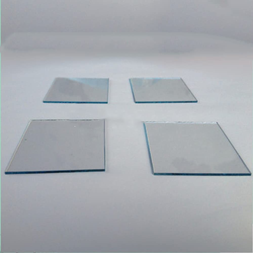 ITO Conductive Max 42% OFF Reservation Coated Glass Lab Ind Transparent