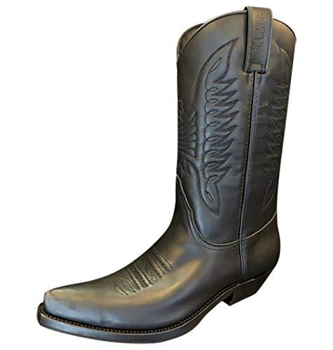 Sancho Boots Cowboydtiefel Westernstiefel 5236 bereits besohlt (Numeric_43)