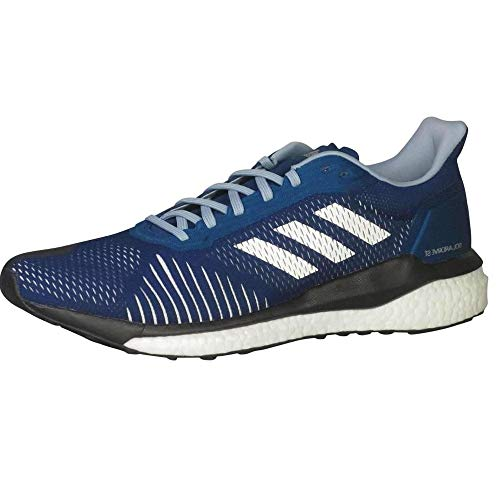 adidas Men's Solar Drive ST Running Shoes Legend Marine/Cloud White/Ash Grey