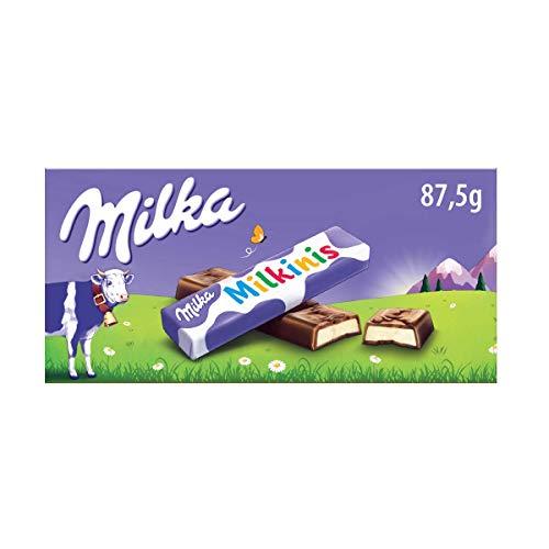 Barritas De Chocolate Milka Milkinis 87,5g