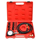 Freetec - tester per la pressione dell'olio, set misuratore dell'olio e misuratore per la ...
