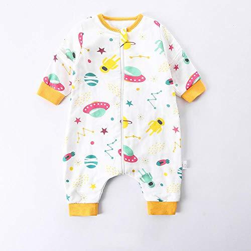B/H Saco de Dormir Bebe 4 Estaciones,Saco de Dormir de Gasa de algodón para niños,Saco de Dormir para bebé recién Nacido-S3_XXL,Saco Dormir Bebe Algodón Suave