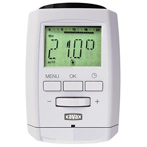 Xavax Heizkörper Thermostat Bluetooth