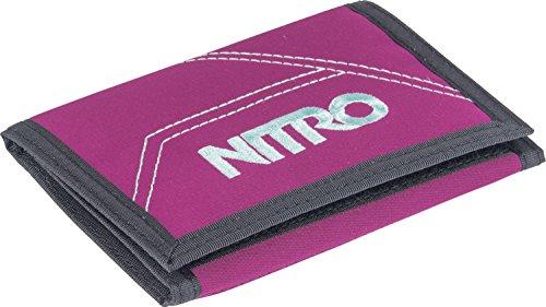 Nitro Wallet, Geldbörse, Geldbeutel, Portemonnaie, Münzbörse, Grateful Pink, 10x14x1cm