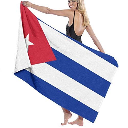 TYHJU Originalität Cuba Beach Towel Badetuch Maximale Weichheit und Saugfähigkeit für den täglichen Gebrauch Outdoor Sports Travel Swim