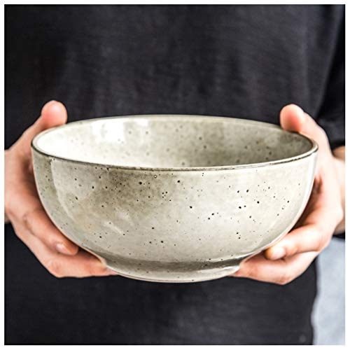 YYF Vaisselle en céramique vintage nordique - Bol à riz créatif Bol à vaisselle occidentale Plat 5-8 pouces (Taille : 20.5cm)